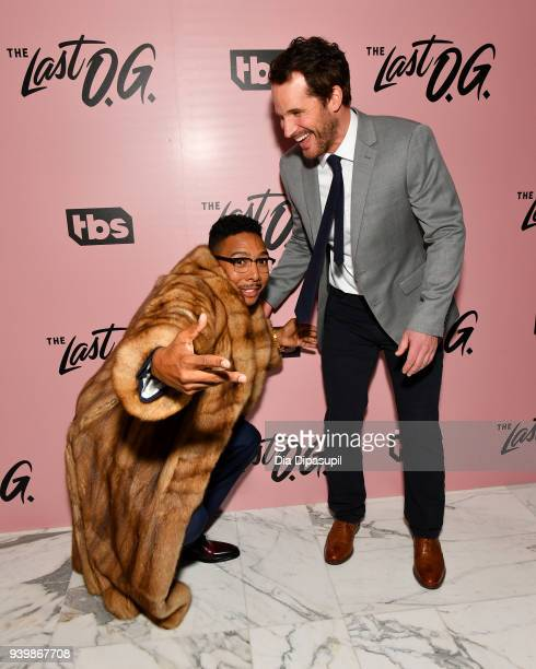 Actors Allen Maldonado and Ryan Gaul attend 'The Last OG' New York Premiere at The William Vale on March 29 2018 in New York City