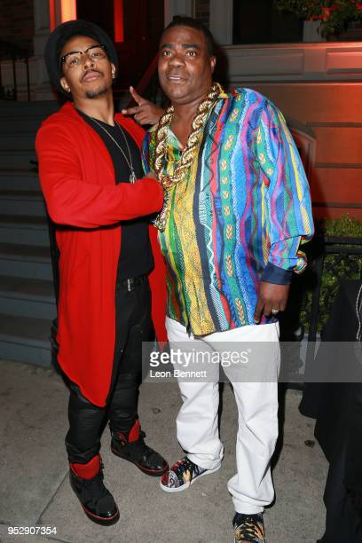 Actors Allen Maldonado and Tracy Morgan attends the after party during the TBS' FYC Event For 'The Last OG' And 'Search Party' at Steven J Ross...