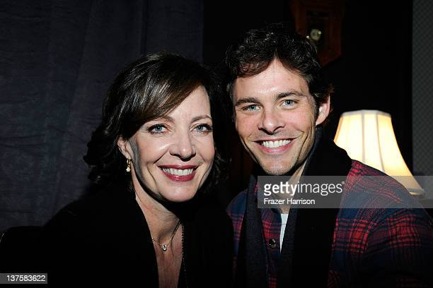Actors Allison Janney and James Mardsen attend Sheets Energy presents BCDF Sundance Cocktail Party at Stella Artois by Ally B during the 2012...