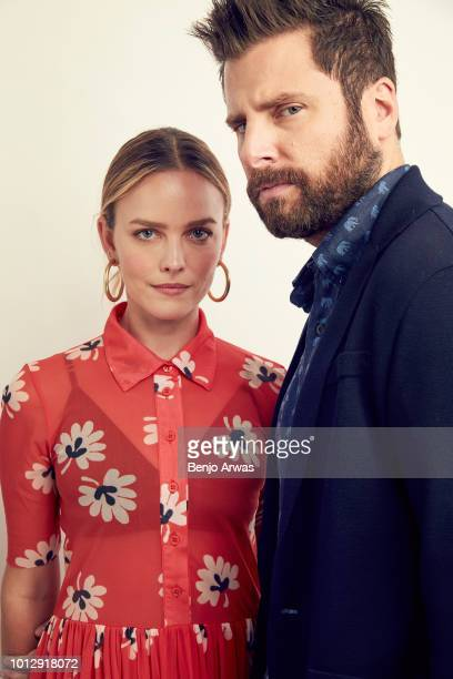 Actors Allison Miller and James Roday of ABC's 'A Million Little Things' pose for a portrait during the 2018 Summer Television Critics Association...