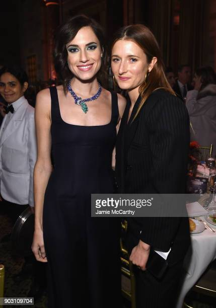 Actors Allison Williams and Grace Gummer attend the The National Board Of Review Annual Awards Gala at Cipriani 42nd Street on January 9 2018 in New...