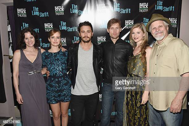 Actors Ally Sheedy Ahna O'Reilly director James Franco actors Scott Haze Allie Gallerani and Brian Lally attend the after party during The Long...