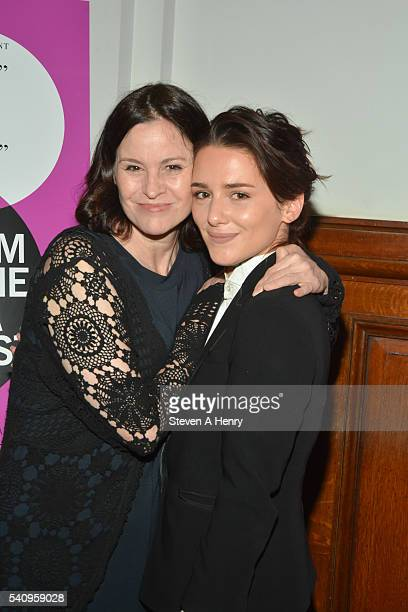 Actors Ally Sheedy and Addison Timlin attend the BAMcinemaFest 2016 Little Sister premiere at BAM Rose Cinemas on June 17 2016 in New York City