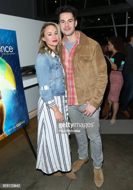 Actors Alyshia Ochse and Jayson Blair attend the screening for the CW's Life Sentence at The Downtown Independent on March 7 2018 in Los Angeles...
