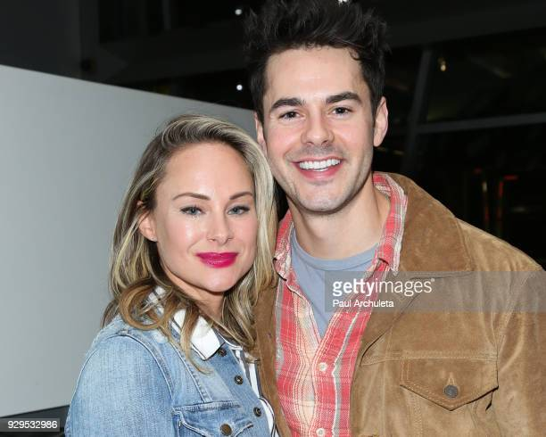 Actors Alyshia Ochse and Jayson Blair attend the screening for the CW's 'Life Sentence' at The Downtown Independent on March 7 2018 in Los Angeles...