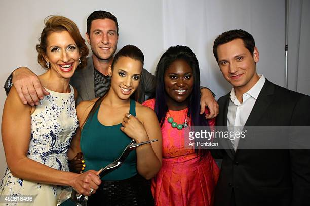 Actors Alysia Reiner Pablo Schreiber Dascha Polanco Danielle Brooks and Matt McGorry attend the 2014 Young Hollywood Awards brought to you by Samsung...