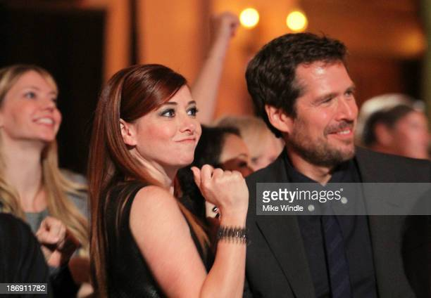 Actors Alyson Hannigan and Alexis Denisof attend Equality Now presents 'Make Equality Reality' at Montage Hotel on November 4 2013 in Los Angeles...