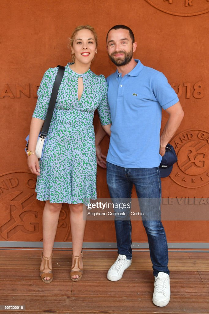 Celebrities At 2018 French Open : Day Nine
