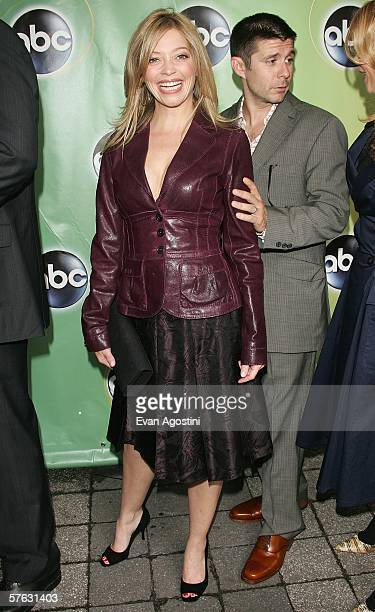 Actors Amanda Detmer and Rick Gomez attend the ABC Television Network Upfront at Lincoln Center May 16 2006 in New York City