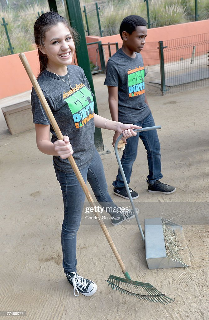 Actors Amber Montana and Curtis Harris attend Nickelodeon