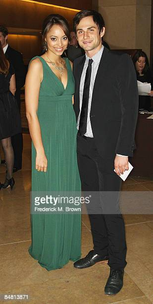 Actors Amber Stevens and Andrew J West attend the 59th Annual ACE Eddie Awards at the Beverly Hilton Hotel on February 15 2009 in Beverly Hills...