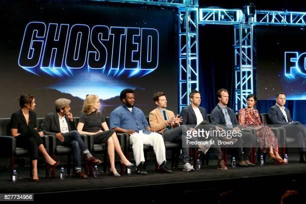 Actors Amber Stevens West Adeel Akhtar and Ally Walker Executive producers/actors Craig Robinson and Adam Scott Creator/Writer/Executive Producer Tom...