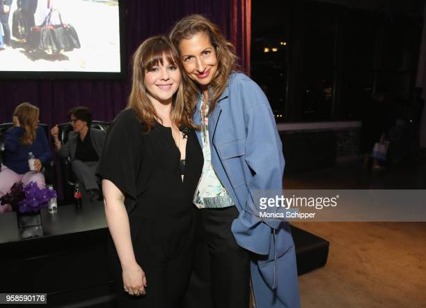 Actors Amber Tamblyn and Alysia Reiner the 'Full Frontal with Samantha Bee' FYC Event NY on May 14 2018 in New York City