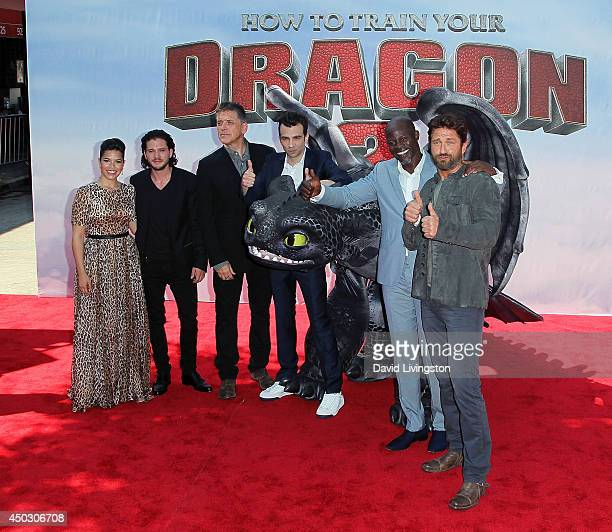How to train your dragon 2 pictures and photos getty images actors america ferrera kit harington craig ferguson jay baruchel djimon hounsou and gerard butler attend the ccuart Image collections