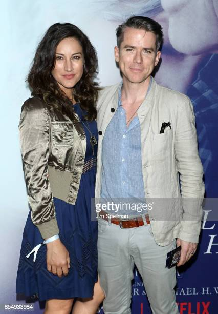 Actors America Olivo and Christian Campbell attend the New York premiere of 'Our Souls at Night' hosted by Netflix at The Museum of Modern Art on...