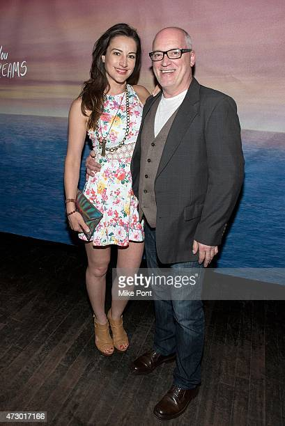 Actors America Olivo and Donnie Kehr attend the 'I'll See You In My Dreams' New York screening at Tribeca Grand Screening Room on May 11 2015 in New...