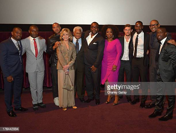 Actors Aml Ameen David Oyelowo Jesse Williams Jane Fonda James Lawson director Lee Daniels actors Oprah Winfrey Alex Pettyfer Mo McRae Forest...