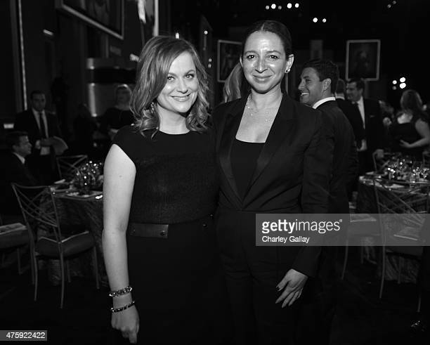 Actors Amy Poehler and Maya Rudolph attend the 2015 AFI Life Achievement Award Gala Tribute Honoring Steve Martin at the Dolby Theatre on June 4 2015...