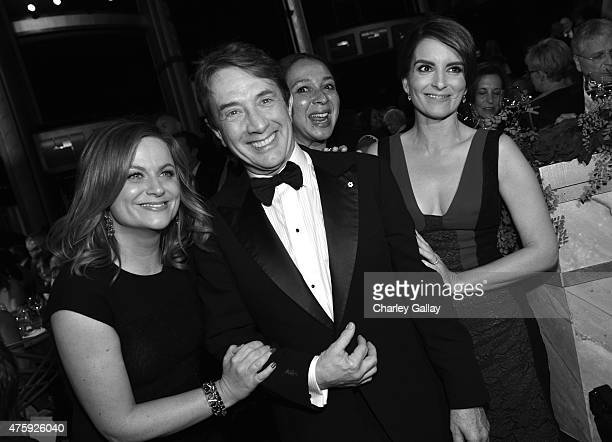 Actors Amy Poehler Martin Short Maya Rudolph and Tina Fey attend the 2015 AFI Life Achievement Award Gala Tribute Honoring Steve Martin at the Dolby...