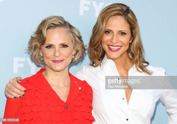 Actors Amy Sedaris and Andrea Savage attend truTV's Offical FYC Event For 'At Home With Amy Sedaris' And Andrea Savage's 'I'm Sorry' at NeueHouse...