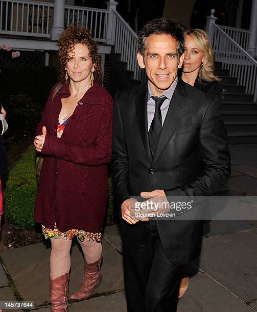 Actors Amy Stiller and Ben Stiller attend the 2012 Made In NY Awards at Gracie Mansion on June 4 2012 in New York City