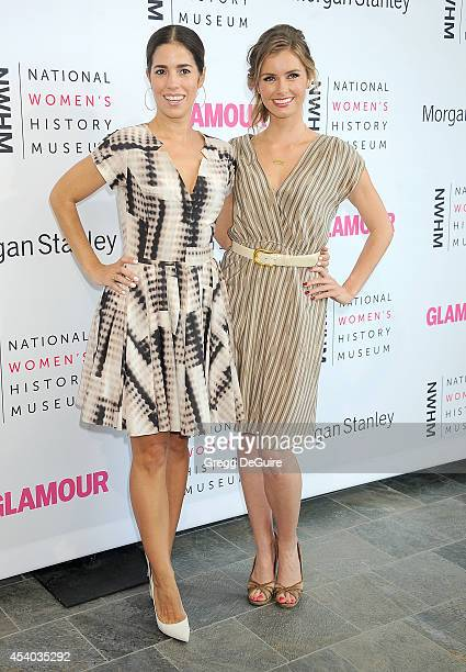 Actors Ana Ortiz and Brianna Brown arrive at the National Women's History Museum's 3rd Annual Women Making History event at Skirball Cultural Center...