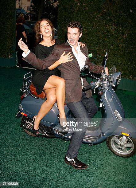 Actors Ana Ortiz and Michael Urie arrive at the 17th Annual Environmental Media Awards at the Ebell Club of Los Angeles on October 24 2007 in Los...