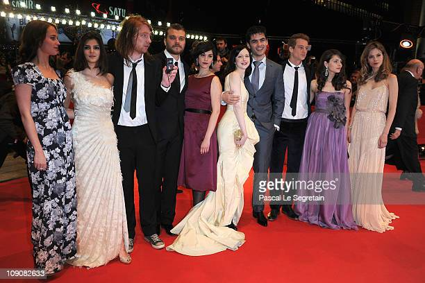 Actors and 2011 Shooting Stars Alicia Vikander Clara Lago Domhnall Gleeson Pilou Asbaek Marija Skaricic Andrea Riseborough Nik Xhelilaj Alexander...