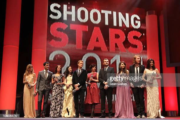 Actors and 2011 Shooting Stars Sylvia Hoeks Nik Xhelilaj Alicia Vikander Andrea Riseborough Alexander Fehling Marija Skaricic Pilou Asbaek Natasha...
