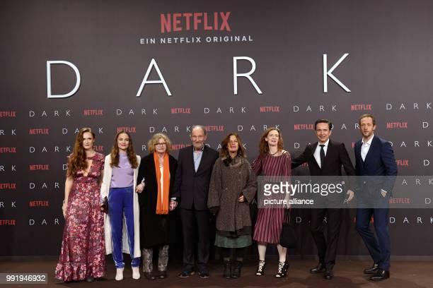 Actors and actresses Deborah Kaufmann Anne RattePolle Lisa Kreuzer Michael Mendel Angela Winkler Julia Jenkins Arnd Klawitter and Stephan Kampwirth...