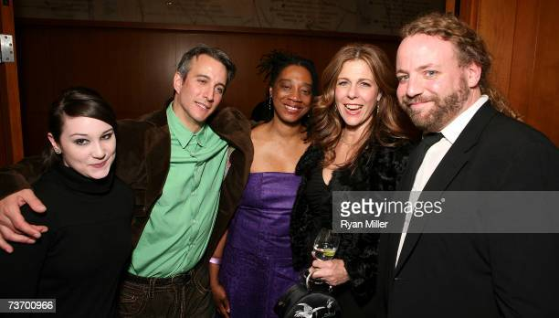 Actors and cast members Emma Hunton Bronson Pinchot Stephanie Berry Rita Wilson and Ray Porter attend the party for the World Premiere of Lisa...
