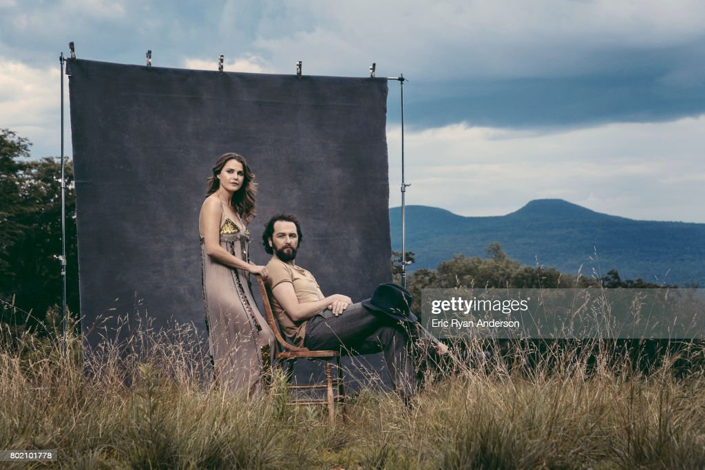 Keri Russell and Matthew Rhys, The Hollywood Reporter, August 12, 2016