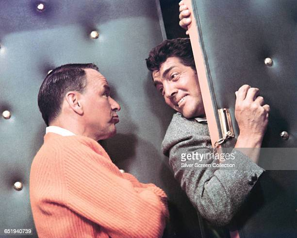 Actors and singers Frank Sinatra and Dean Martin circa 1965
