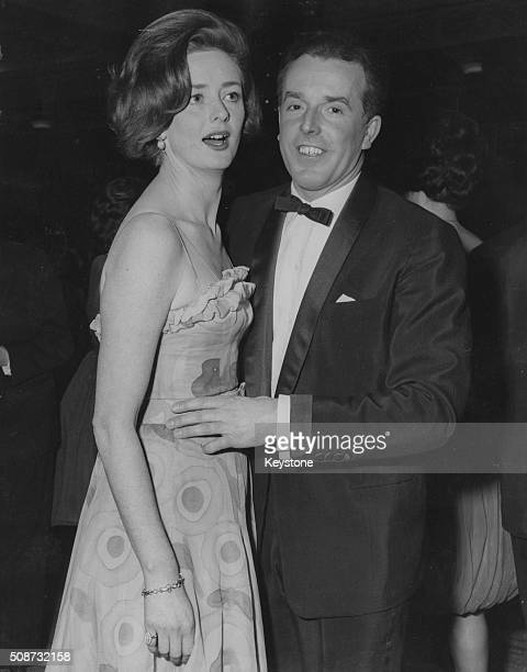 Actors and spouses Brian Rix and Elspet Gray dancing at the Spring Ball of the National Society for Mentally Handicapped Children at Grosvenor House...