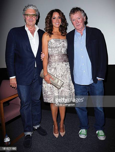 Actors and stars of the film Michael Nouri and Jennifer Beals and film's director Adrian Lyne attend a Flashdance 30th anniversary screening at the...