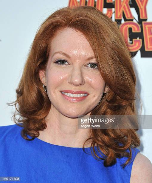 Actors Andrea Frankle arrives at the premiere of Nickelodeon's 'Nicky Deuce' at ArcLight Cinemas on May 20 2013 in Hollywood California