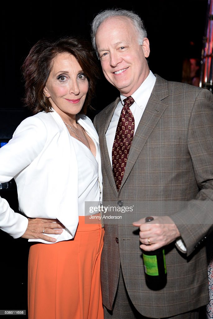 Actors Andrea Martin (L) and Reed Birney attend the Tony Honors Cocktail Party presenting the 2016 Tony Honors For Excellence In The Theatre and honoring the 2016 Special Award recipients at Diamond Horseshoe on June 6, 2016 in New York City.