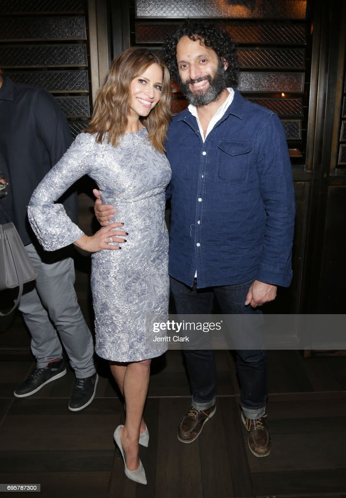Actors Andrea Savage and Jason Mantzoukas attend the premiere of truTV's 'I'm Sorry' n June 13, 2017 in West Hollywood, California.
