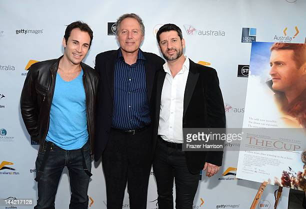 R Actors Andrew Bongiorno Harli Ames Executive Producer Kirk D'Amico and arrives at Australians In Film Screening and USA premiere of Myriad...