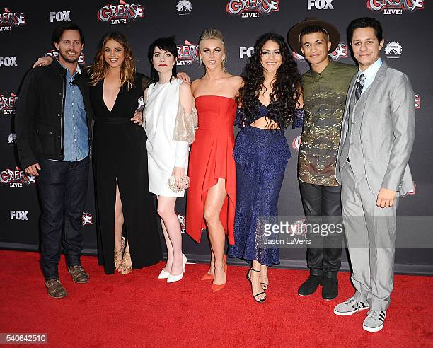 Actors Andrew Call Kether Donohue Carly Rae Jepsen Julianne Hough Vanessa Hudgens Jordan Fisher and David Del Rio attend the For Your Consideration...