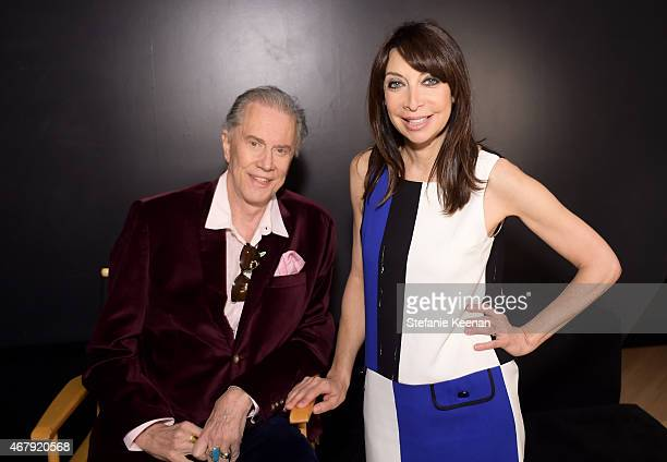 Actors Andrew Prine and Illeana Douglas attend the screening of 'The Miracle Worker' during day three of the 2015 TCM Classic Film Festival on March...