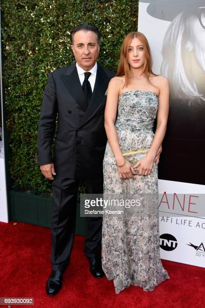 Actors Andy Garcia and Daniella GarciaLorido arrive at American Film Institute's 45th Life Achievement Award Gala Tribute to Diane Keaton at Dolby...