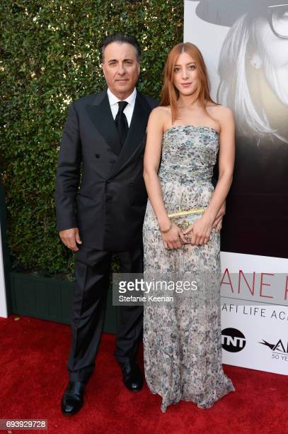 Actors Andy Garcia and Daniella GarciaLorido arrives at American Film Institute's 45th Life Achievement Award Gala Tribute to Diane Keaton at Dolby...