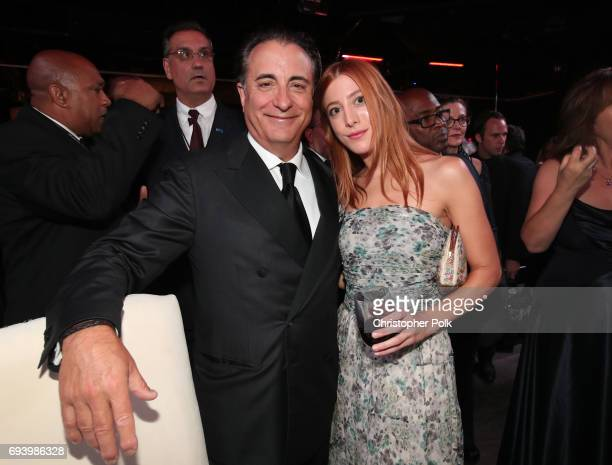 Actors Andy Garcia and Daniella GarciaLorido attend the after party for American Film Institute's 45th Life Achievement Award Gala Tribute to Diane...