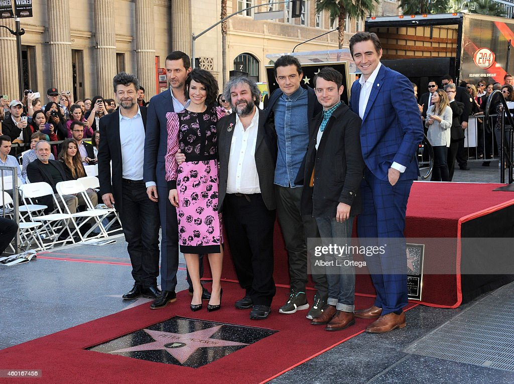 Sir Peter Jackson Honored On The Hollywood Walk Of Fame