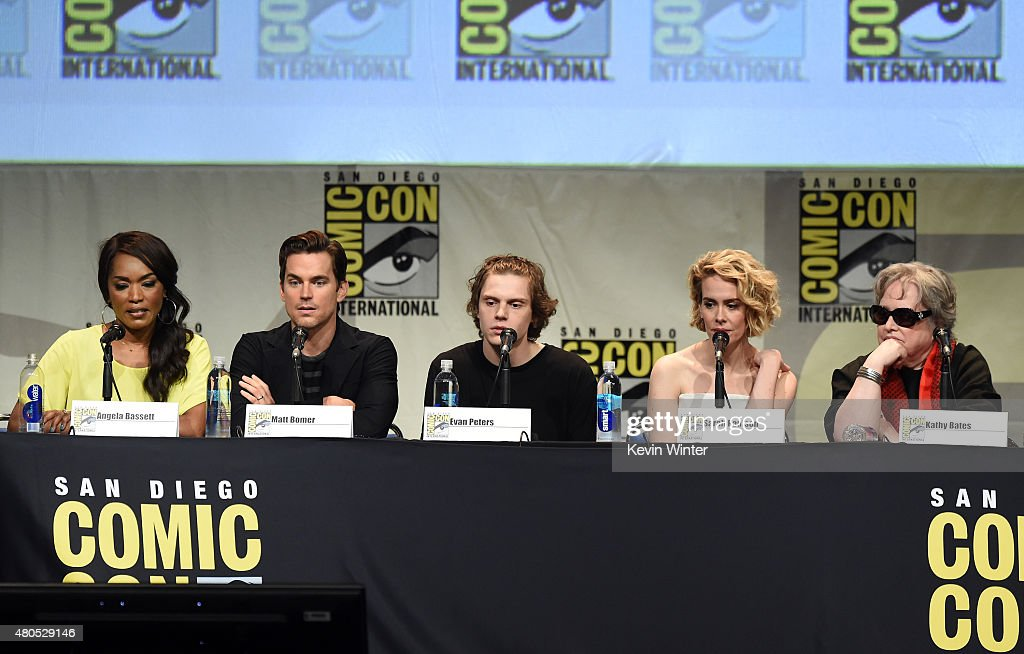 """Comic-Con International 2015 - """"American Horror Story"""" And """"Scream Queens"""" Panel : News Photo"""