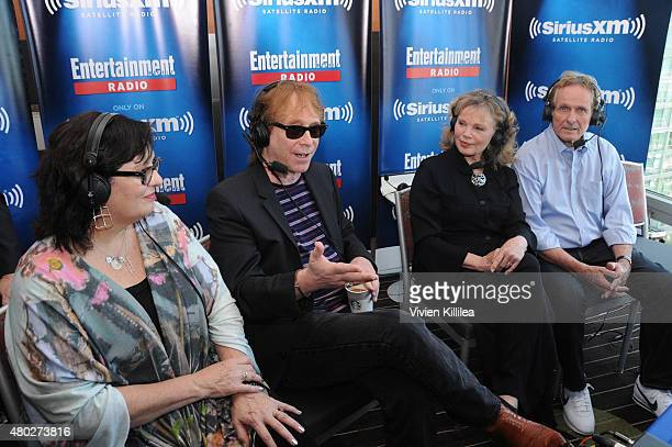 Actors Angela Cartwright Bill Mumy Marta Kristen and Mark Goddard attend SiriusXM's Entertainment Weekly Radio Channel Broadcasts From ComicCon 2015...