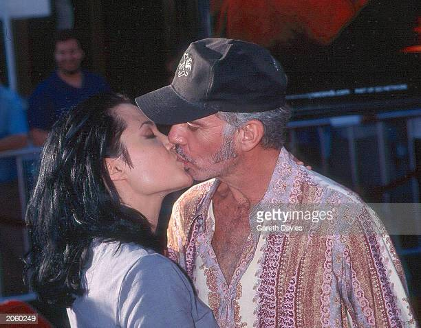 Actors Angelina Jolie and Billy Bob Thornton kiss at the premiere of Gone in Sixty Seconds in Los Angeles California on 5 June 2001 Jolie plays Sara...