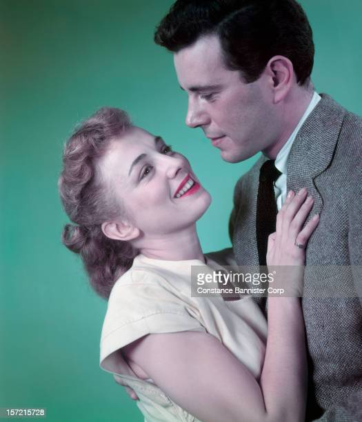 Actors Ann Shepherd and John Forsythe in the play 'All My Sons' by Arthur Miller New York City 17th October 1947