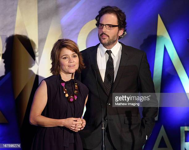 Actors Anna Belknap and Silas Weir Mitchell attend the 17th Annual PRISM Awards at the Beverly Hills Hotel on April 25 2013 in Beverly Hills...
